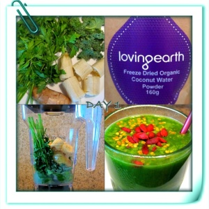 Day 1 - Immune Booster Detox Smoothie