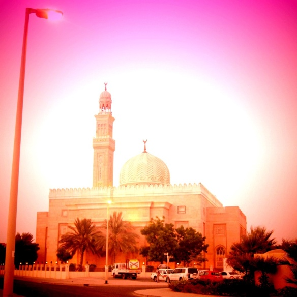 Muslim Mosque in Jumeirah, Dubai - United Arab Emirates