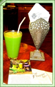 The Iftar Juice at Cafe Baroque