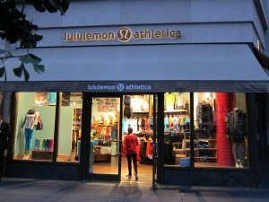 Lululemon Athletica - New York City
