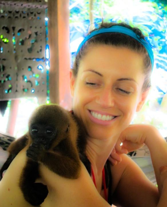 Monkey Magic with Serenity, my precious little jewel found at Chakra Alegria De Amor, Peru.